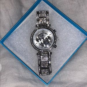 Bedazzled watch!